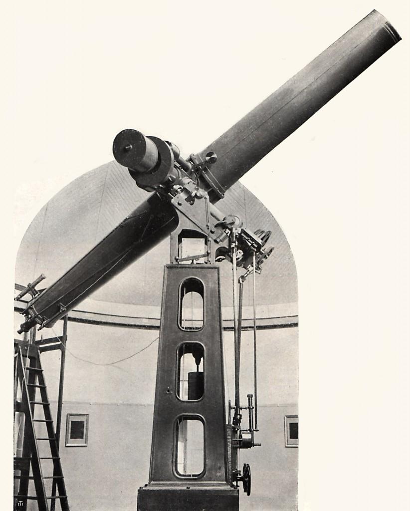 16-Zoll Gautier/Merz-Refraktor der Vatikan-Sternwarte